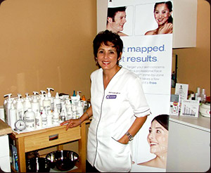 Elle Dewyngaert, owner and operator of SkinCare by Elle, located in Sebring, Florida
